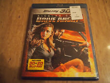 Drive Angry 3D (3D+2D Blu-ray, 2011, Brand New & Factory Sealed)