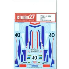 Studio27 DC1166 1:20 McLaren M23 #40 British F1 1978 decal