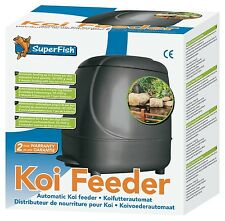 Superfish Automatic Koi Fish Feeder Pond Feeder Holiday Vacation Goldfish