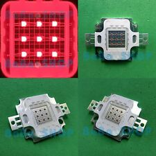 10W Red 625nm-630nm High Power LED Lamp Spot Light 500Lm for Plant Aquarium DIY