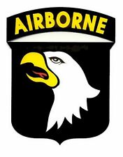 101st Airborne Shield Decal Sticker