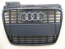 Audi A4 B7 8E original S4 grille + license plate holder for S-line bumper  brand