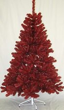 Ohio State Buckeyes Scarlet and Gray 6FT Christmas Tree, Team Colored Artificial