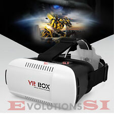 VR BOX 3D GAFAS DE REALIDAD VIRTUAL PLASTICO IPHONE ANDROID VIDEO JUEGOS 24-48H
