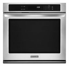 "KitchenAid Architect II 30"" Stainless Steel Single Wall Oven KEBK101BSS"