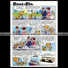 KODAK Pocket INSTAMATIC & BOULE & BILL par ROBA 1974 Pub / Publicité / Ad #A493