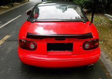 Rear Spoiler Ducktail Trunk Spoiler Wing For Mazda Miata MX5 NA MK1 TR FRP Fiber