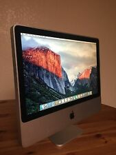 "Apple iMac 24"" Core 2 Duo 2.8GHz 4GB RAM 320GB HDD OS X 10.11 El Capitan Office"