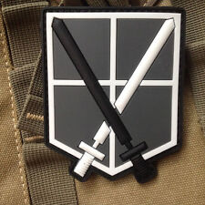 Attack On Titan-Shingeki No Kyojin Training Corps USA Morale 3D PVC Patch