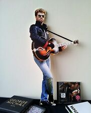 George Michael Display Stand Standee NEW WHAM Faith Father Figure One More Try