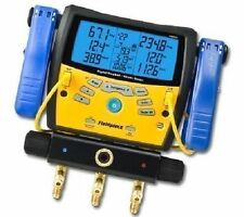 Fieldpiece Sman360 3-Port Digital Manifold With Micron Gauge Replaces Sman3