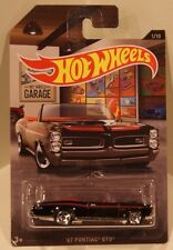 2016 Hot Wheels Walmart Exclusive GARAGE '67 Pontiac GTO BLACK Quantity