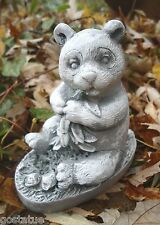 Latex only panda bear mold plaster concrete casting mould