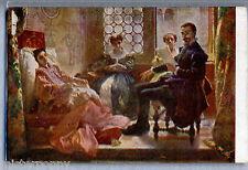 DOMENICO MORELLI Torquato Tasso ed Eleonora d'Este PC Circa 1915