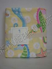 Pottery Barn Kids PBK Seahorse Bed Duvet Cover Full Queen FQ Paisley Nautical