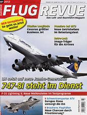 2r1207/ Luftfahrtzeitschrift - FLUG REVUE - Ausgabe 7/2012 - TOPP HEFT