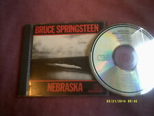 BRUCE SPRINGSTEEN-NEBRASKA orig 1985 CD CDCBS 25100