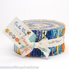 """Moda FABRIC Jelly Roll ~ ON THE WING ~ by Abi Hall 40 - 2 1/2"""" Strips"""