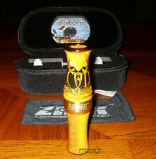 FRED ZINK CALL OF DEATH COD GOOSE CALL+CASE+DVD CLASSIC MAPLE BRASS BAND NEW!
