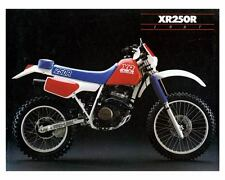 1987 Honda Pro-Link decal stickers XR250R AHRMA Enduro Factory Vintage Vinduro