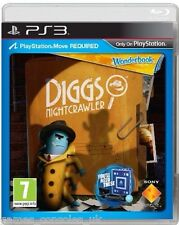 SONY PS3 WONDERBOOK DIGGS Nightcrawler Gioco Nuovo di Zecca e Sigillato UK PAL