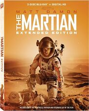 THE MARTIAN : Extended Edition -  Blu Ray - Sealed Region free