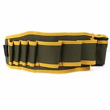 Hardware Mechanic's Canvas Tool Bag Belt Utility Kit Pocket Pouch Organizer New