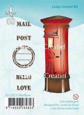 Leane claro se aferran sellos de goma-buzón de correo 55.2823