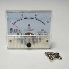 Amp Panel Meter Current Ammeter 85C1DC 30A Analog