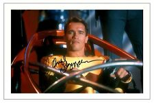 ARNOLD SCHWARZENEGGER THE RUNNING MAN SIGNED PHOTO PRINT AUTOGRAPH POSTER
