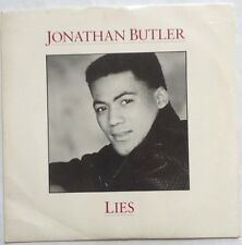 "Jonathan Butler - Lies - Jive Records 7"" Picture Sleeve Single JIVE 141 EX/VG"