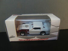 RARE White w/Red chassis Blank DIRT MODIFIED 1/64 ADC