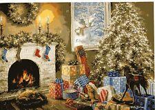 """# Adventskalender #  KORSCH Verlag 10386 """" KAMIN"""" Fireplace Nicky Boheme,GLIMMER"""
