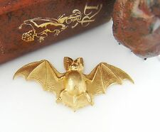 BRASS GOTHIC BAT Stamping - Jewelry Ornament Finding (FA-6014)