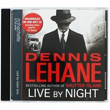 LIVE BY NIGHT Dennis Lehane MP3 CD Audio Book Unabridged 13 hours