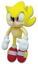 "BRAND NEW AUTHENTIC Sonic the Hedgehog - 12"" Super Sonic(GE-8958) Plush Doll!!!"