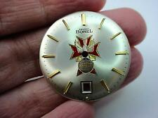 Ernest Borel K of C 4th Degree 29mm Vintage Watch Dial Pearl Mens Gold Markers
