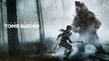 """031 Rise of The Tomb Raider - Upcoming Action Adventure Game 25""""x14"""" Poster"""