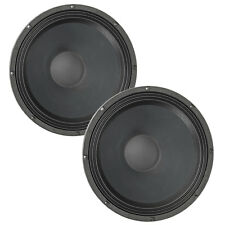 """Pair Eminence Sigma Pro 18A-2 18"""" Sub Woofer 8ohm 99dB 3""""VC Replacement Speaker"""
