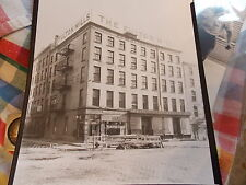 1928 Northeast Corner Fulton and Water Streets NYC New York City Photo