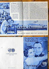 Cinema Teatro Savoia Peretola 1936 Diavoli in paradiso James Cagney Pat O'Brien