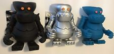 BXH Bounty Hunter Set of 3 Mecha Mekaru Kun Japan Designer Vinyl Figure Art toy