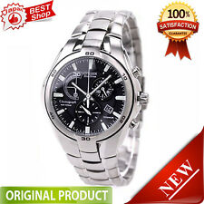 Citizen VO10-5992F ALTERNA Eco-Drive Chronograph Titanium 100% Genuine JAPAN