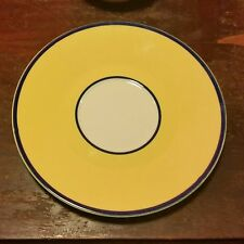 Pagnossin SPA YELLOW Saucer, Treviso, Ironstone, Made in Italy