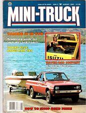 MINI-TRUCK  Magazine Dodge Ram 4x4 TOWING TEST August 1982 Desert DATSUN V3#8
