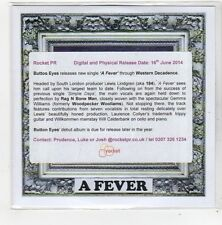 (FN635) Button Eyes, A Fever - 2014 DJ CD