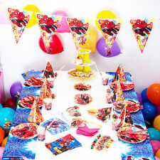 Theme Party Birthday Party Prom Party baby shower Decorations Kit For Spider-Man