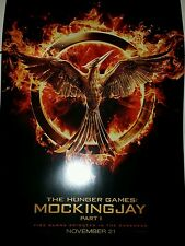 The Hunger Games Mockingjay Part 1 poster 13x20