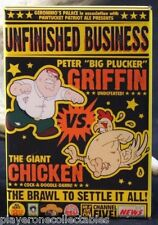 "Peter Griffin Vs. The Giant Chicken - 2"" X 3"" Fridge Magnet. Family Guy"