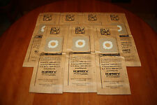 Seven Kirby Vacuum Cleaner Bags Micron Magic FIts G4 and G5 Part Number 197394